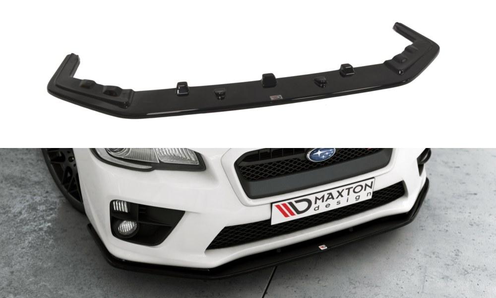 Splitter Przedni Subaru Impreza MK4 WRX STI V.2 - GRUBYGARAGE - Sklep Tuningowy